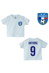 Tee-shirt foot France bleu
