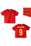 Tee-shirt foot Espagne rouge