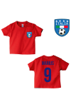 T-shirt original logo Italie rouge