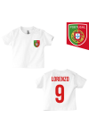 t-shirt enfant Portugal blanc