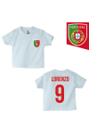 t-shirt enfant Portugal bleu