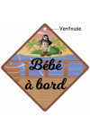 Bébé à bord original Pirate