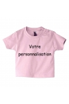 tee shirt 100% personnalisable rose