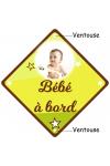 Bébé à bord photo et prénom