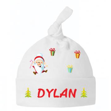 Chapeau pour bébé, la magie de Noël