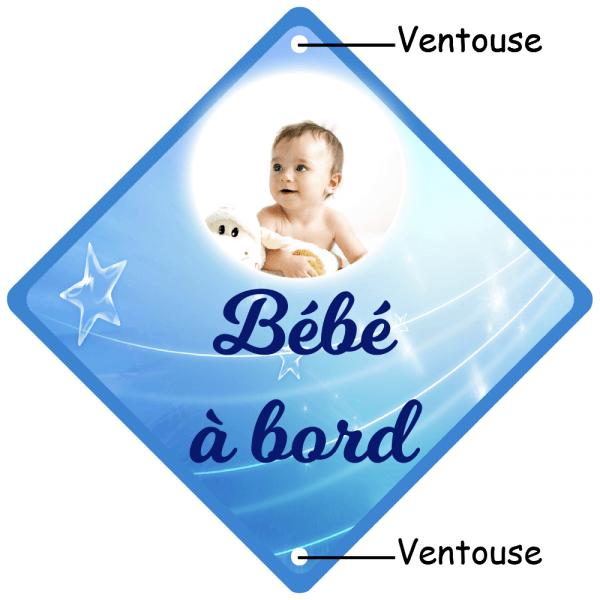 bébé à bord personnalisé étoile
