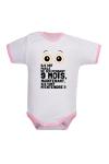 Body humoristique pour bébé très bavard
