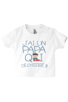 Un vêtement fun pour des enfants ayant un papa qui assure !