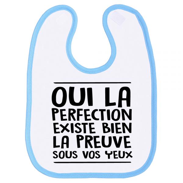 Une bavette parfaite pour un bébé parfait !