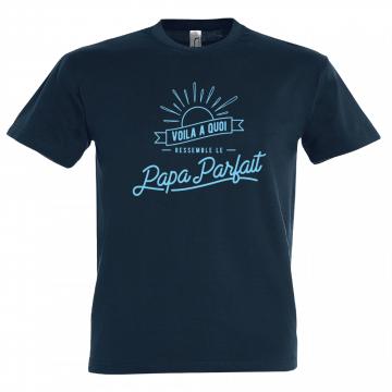 T-shirt homme, être un père modèle et le dire !