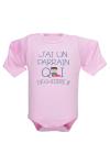 Un vêtement de naissance ultra fun pour bébé fou de son parrain !