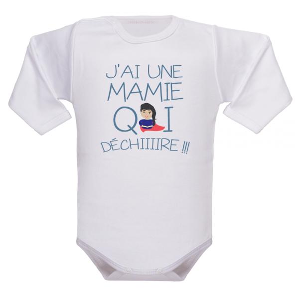 Un vêtement de naissance pour mamie de cœur !