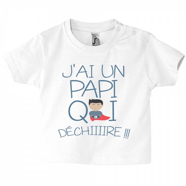 Vêtement enfant, grand-père part en vadrouille avec bébé !
