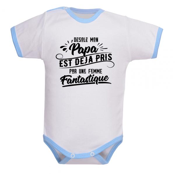 Vêtement de naissance, bébé veille sur le couple de ses parents !