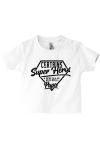 Un vêtement de naissance dédié à papa, le super héros de bébé !