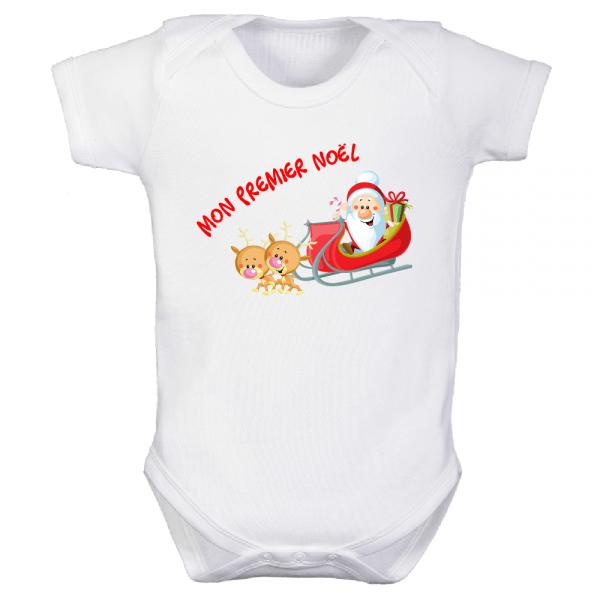 Body bébé « Mon premier Noel »