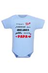 Body bébé humour je préfère Papa