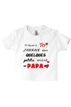 Le tee-shirt spécial papa, c'est le meilleur !