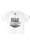 T-shirt bébé où mamie et maman sont de la partie !
