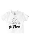 Un tee-shirt craquant comme bébé !