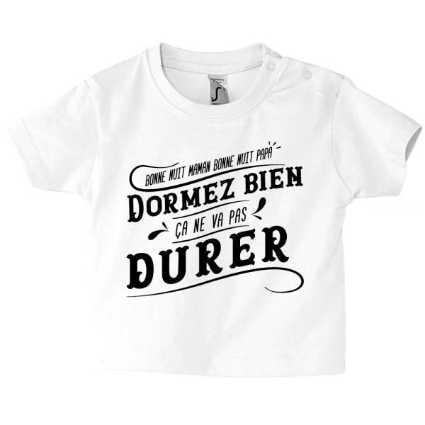 Un tee-shirt pour une nuit au top !