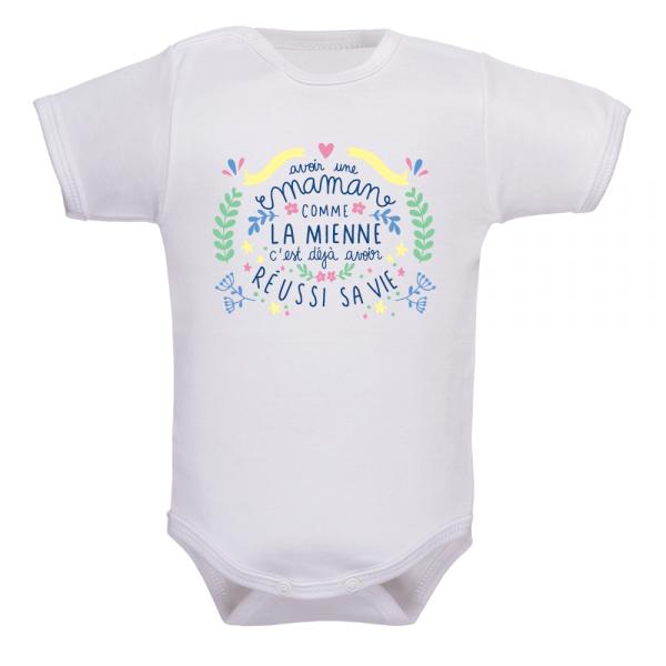 Body bébé orignal naissance : le plus cadeau de naissance pour maman