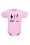 Body de naissance maman : une héroïne pour bébé