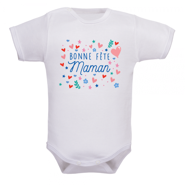 Body bébé bonne fête maman : un cadeau qu'elle n'oubliera jamais !