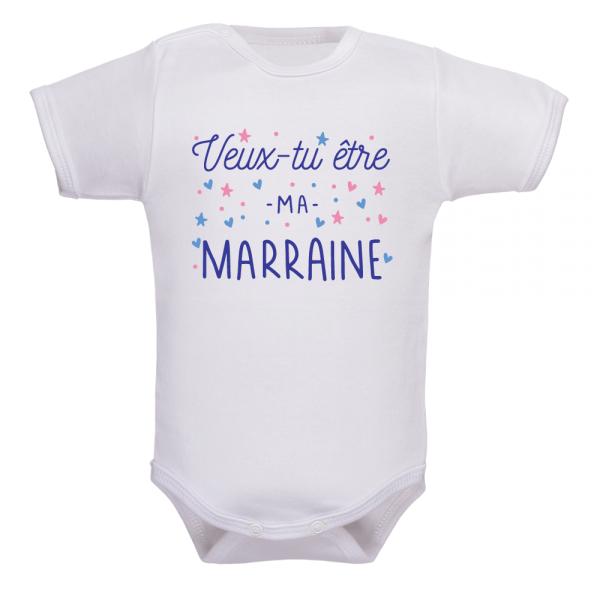 Body bébé veux-tu être ma marraine : faites dans l'originalité !