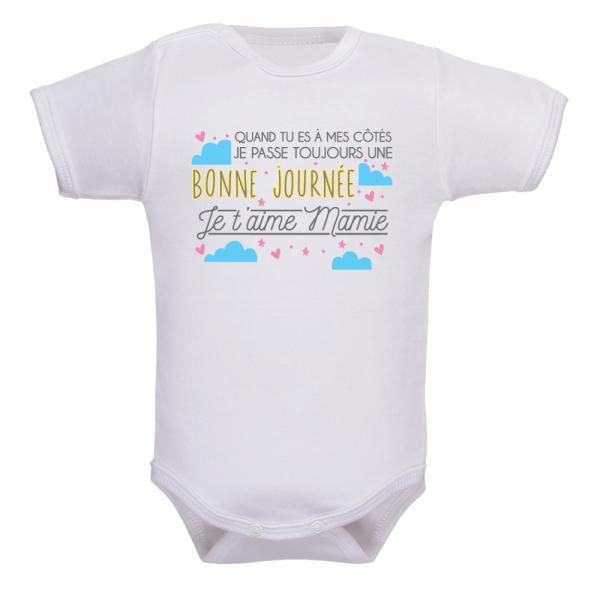 Body bébé soleil mamie, le plus tendre des cadeaux de naissance