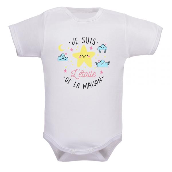 Body bébé étoile, un cocon de douceur pour bébé !