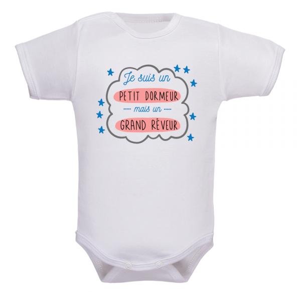 body bébé nuit blanche, optez pour l'humour à défaut de dormir !
