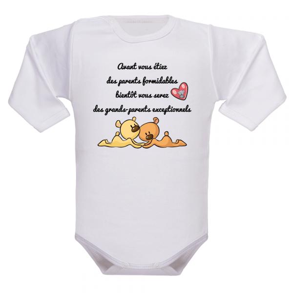 Un vêtement de naissance qui définit la hiérarchie familiale