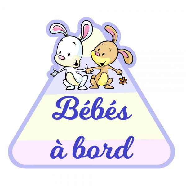 Un bébé à bord pour jumeaux craquants !