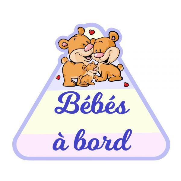 Un bébé à bord pour des triplés malicieux !