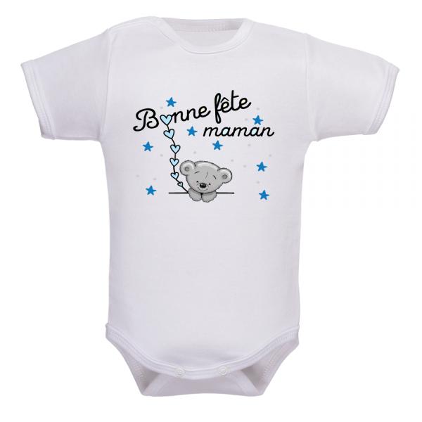 Body pour bébé bonne fête maman