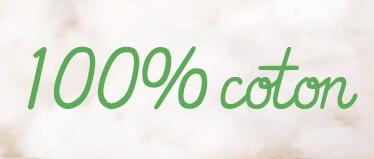 Body bébé : 100% coton