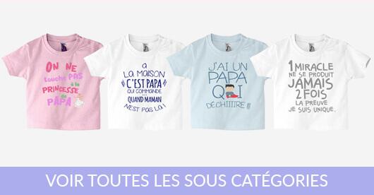t-shirt bébé humour et drôle
