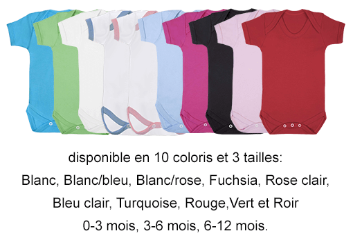 disponible en 10 coloris